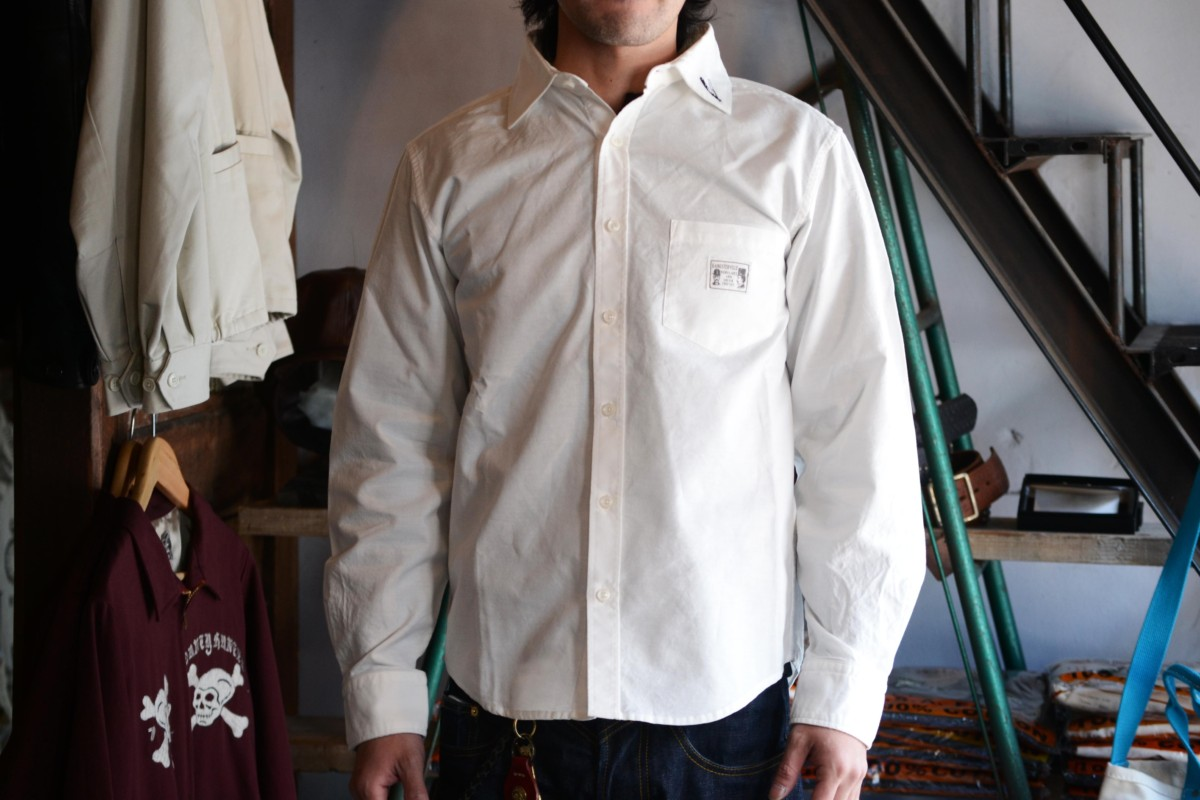 GANGSTERVILLE RAZOR GANGS - L/S SHIRTS WHITE
