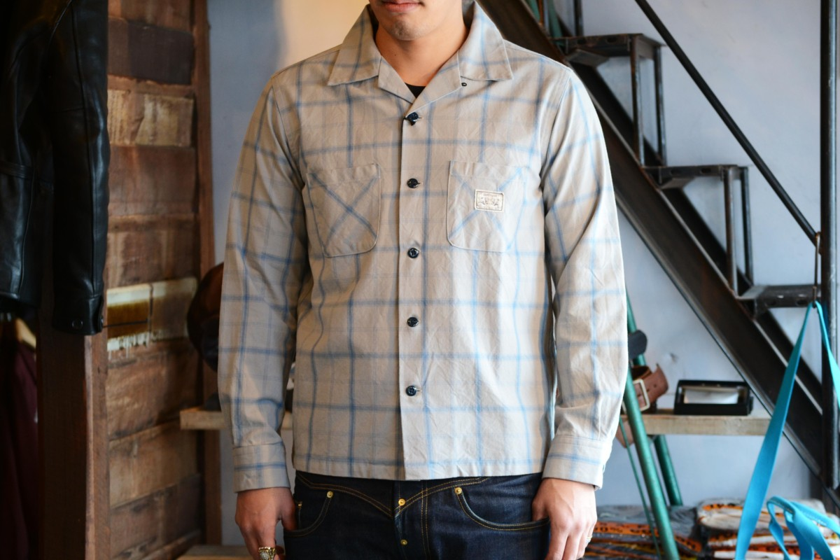 B.S.M.G CHECK SHIRTS - GRAY